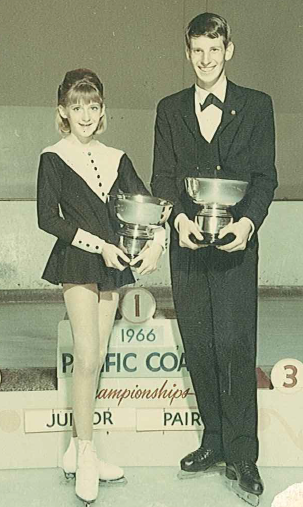 Barbara Ray & Sam Singer 1966 Pacific Junior Pairs Champions