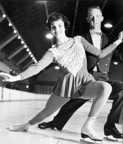 Laurie & Bill Hickcox Bronze Medalists, 1961 U.S. Championships, Senior Pairs