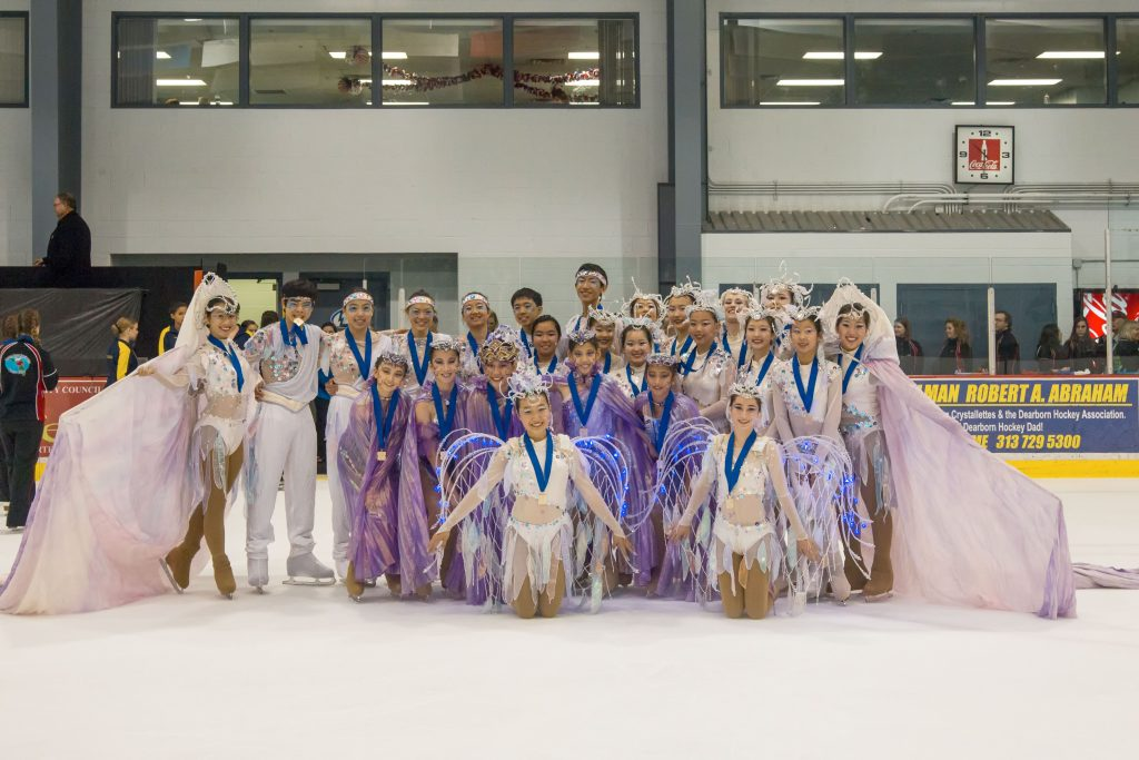 2014 National Theatre on Ice San Francisco Ice Theatre Junior Team