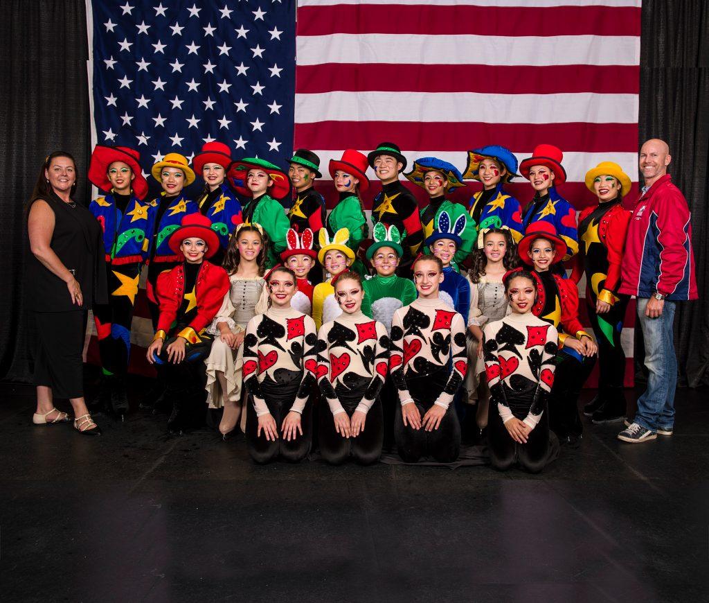 2016 San Francisco Ice Theatre Novice Team