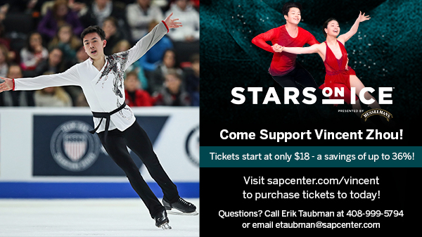 Come Support Vincent Zhou