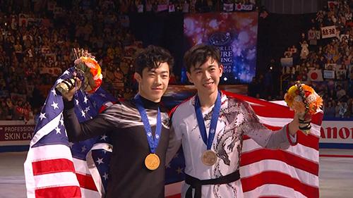 ISU Championship Bronze Medal Winner